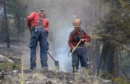 WIldfire Fighter in BC